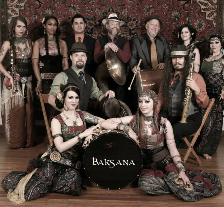 Baksana! Live music and belly dance in Portland, Oregon.